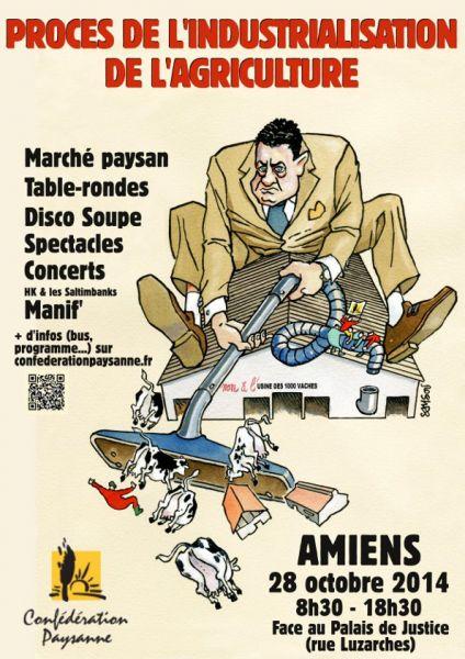 affiche mobilisation Amiens